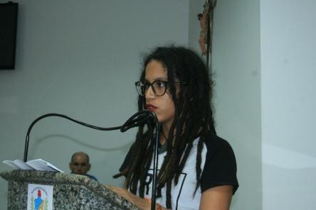 Iasmin Pereira Monteiro estudante de jornalismo da UNEB