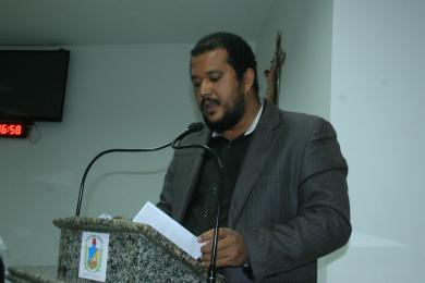 Professor Luis Eduardo do Curso de Direito da UNEB