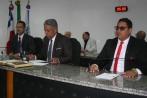 Jean Gomes ANibal e Alex Tanuri compuseram a Mesa na reabertura