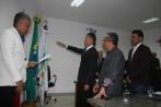 José Ilton presta juramento na posse