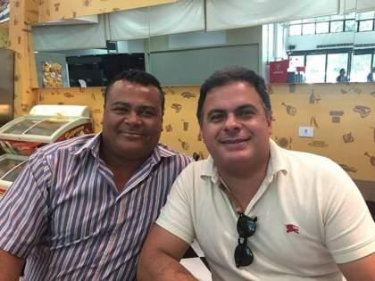 Bertinho da Carnaíba e deputado federal João Barcelar